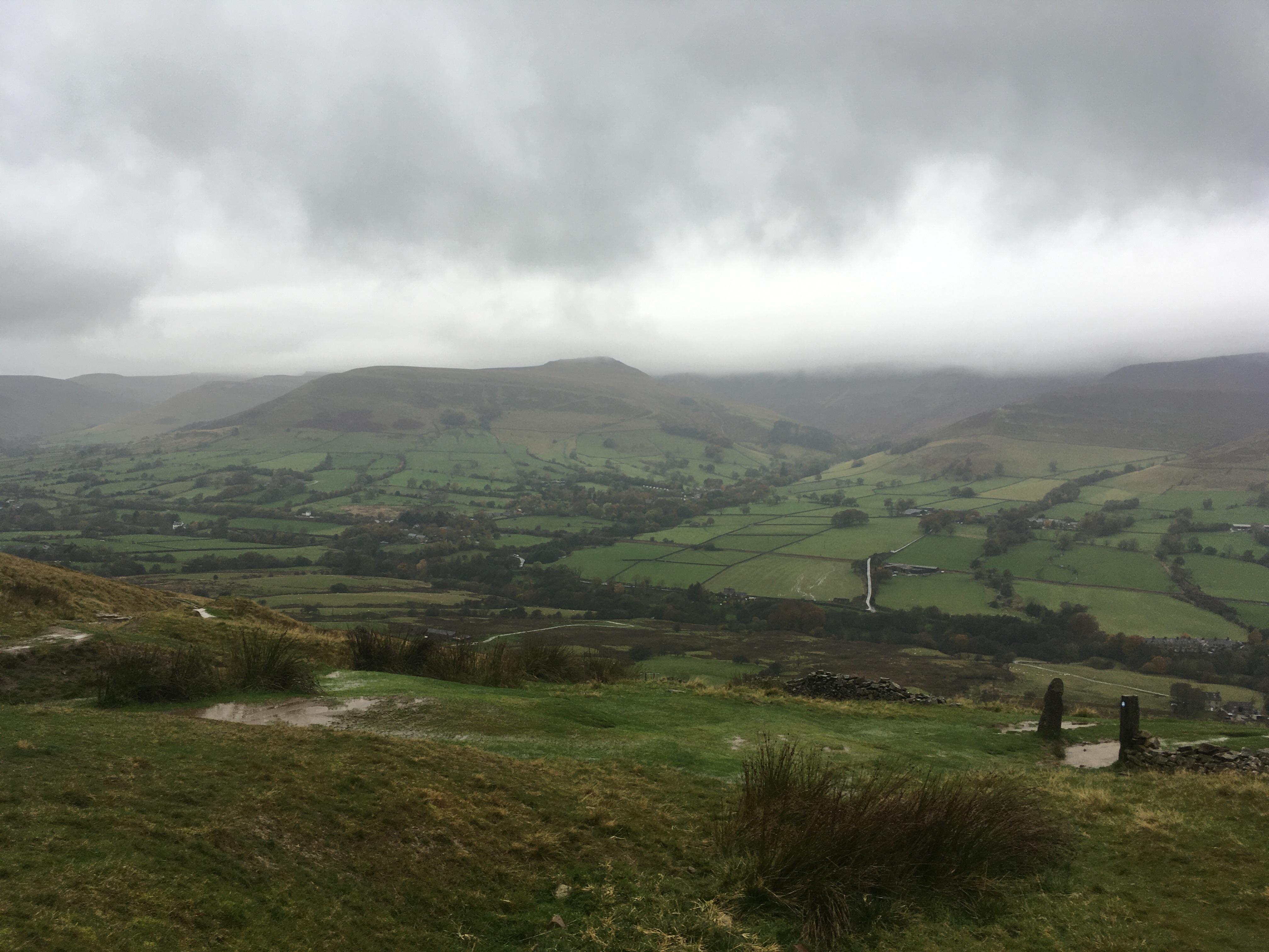 Walk, Derbyshire, walking, hiking, walking for wellbeing, wellbeing, mental health, rain, rainy day, weather, friends, Belper, aromatherapy, massage, health, dogs, dog walking, Mam Tor, Peak District